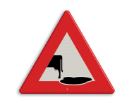 Verkeersbord koeienvlaai