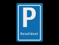 Verkeersbord E08 revalidant
