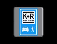Verkeersbord MINI 300x300x28 - RVV K12
