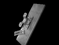 Parkeerbord voor kenteken Alu. 530x120x10mm
