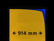 Reflecterende folie kl.3 geel FLUOR 914mm breed