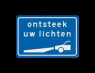 Verkeersbord RVV L202