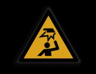 Veiligheidspictogram - Laag-plafond - W020