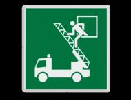 Veiligheidspictogram - Reddingsvenster - E017
