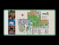 Informatie- Plattegrondbord rechthoek 2:1  full-colour opdruk