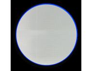 Basisbord omgezette rand - type rond - reflecterend