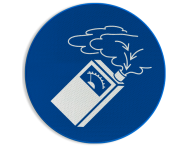 Pictogram M048 - Gasdetectie verplicht