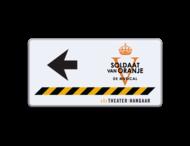 Informatiebord - Theater Hangaar - routepijl + logo 002