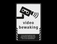 Verkeersbord videobewaking - Basic