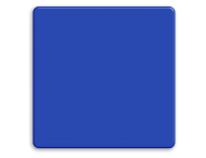 Basisbord omgezette rand - type 1:1 - rondom gepoedercoat