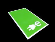 Parkeervak oplaadpunt markering incl. E-laad logo en belijning
