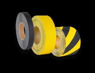 Vloertape - anti-slip - Rol 18,3 m. - aluminium vervormbare basis