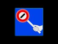 Verkeersbord RVV VR07 - klaar-over