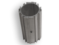 Zwaluwstaart beugelset Ø76mm