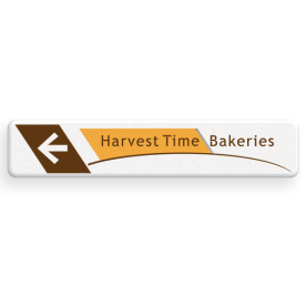 Informatiebord - Harvest Time - routepijl - 1000x200x28mm