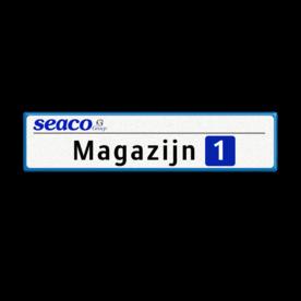 Informatiebord 700x150x28 mm - SEACO Groep BV