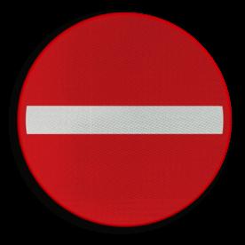 Verkeersbord België C1 - Verboden richting voor iedere bestuurder