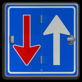 Klapbord - 4 standen - Vierkant conform RVV