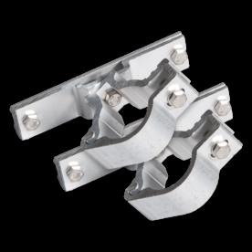Draaibare bordbeugel 360* standaard (set 2 stuks) Ø48 mm