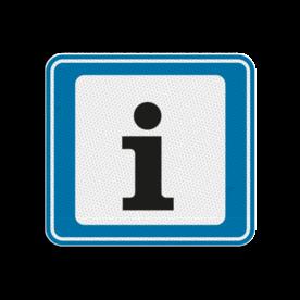 TBB Informatiepunt 119x109mm - klasse 3