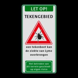 Informatiebord - Let op! TEKENGEBIED