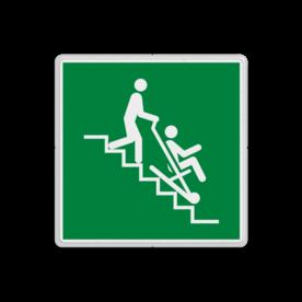 Reddingsbord E060 - Evacuatiestoel
