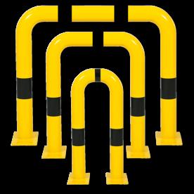 Aanrijdbeveiliging - Aanrijdbeugel (SH1) - Elastisch buigbaar Aanrijdbeveiliging, Aanrijdbeugel, Beugel, Aanrijding, Beveiliging, Ram, Rambeugel, Aanrijdbescherming, Vangrail
