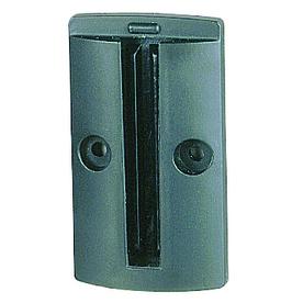 Wandclip voor Afzetpaal met lint (50mm hoog) wandclip