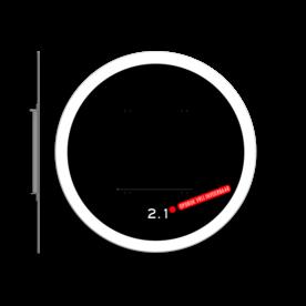 Achtergrondschild 1 lichts verkeerslicht (VKL) stoplicht