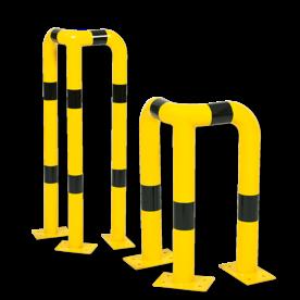 Aanrijdbeveiliging - Aanrijdbeugel - Hoek 90° (SH2) Aanrijdbeveiliging, Aanrijdbeugel, Beugel, Aanrijding, Beveiliging, Ram, Rambeugel, Aanrijdbescherming, Vangrail