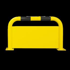 Aanrijdbeveiliging - Beugelhek met tussenplaat (SH1) Aanrijdbeveiliging, Aanrijdbeugel, Beugel, Aanrijding, Beveiliging, Ram, Rambeugel, Aanrijdbescherming, Vangrail