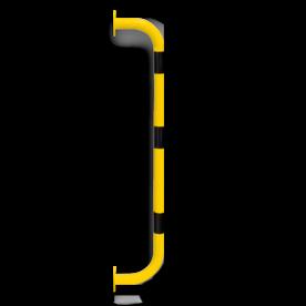Aanrijdbeveiliging - Wandbeugel U-Vormig (SH1) Aanrijdbeveiliging, Aanrijdbeugel, Beugel, Aanrijding, Beveiliging, Ram, Rambeugel, Aanrijdbescherming, Vangrail