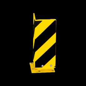 Aanrijbeveiliging -  Hoek 160x5mm (SH1) - Elastisch Aanrijdbeveiliging, Aanrijdbeugel, Beugel, Aanrijding, Beveiliging, Ram, Rambeugel, Aanrijdbescherming, Vangrail