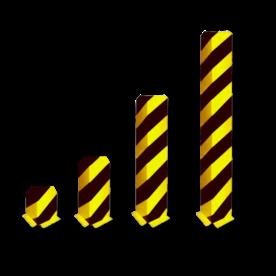 Aanrijdbeveiliging - Hoek aanrijdbeveiliging (SH2) Aanrijdbeveiliging, Aanrijdbeugel, Beugel, Aanrijding, Beveiliging, Ram, Rambeugel, Aanrijdbescherming, Vangrail