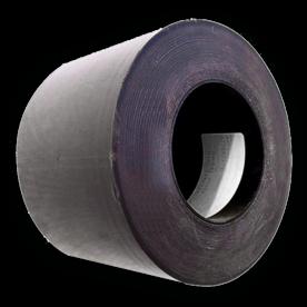 Afplakband  voor verkeersborden zwart (100 meter) tape, afplakken van borden