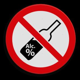 Veiligheidspictogram Verboden alcohol te nuttigen in het openbaar. Veiligheidspictogram - Alcohol verboden drugs, amsterdam