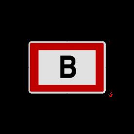 Informatiepaneel - Brandkraan locatie - 270x200mm