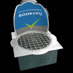 Dunk-IT afvalbak in stoeptegel  Rookvrij, astma, asma