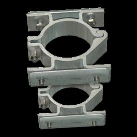 Bordbeugel dubbelzijdig (2 per/set) Ø76mm beugelset, bevestigen, vastmaken