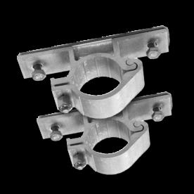 Bordbeugel  standaard (set 2 stuks) Ø48mm bordbeugel ø48, flespaal, scharnierbeugel