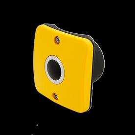 Drukknop 2x maak - Ø102-133mm verkeerslicht , stoplicht mast, zwart witte mast, VKL mast