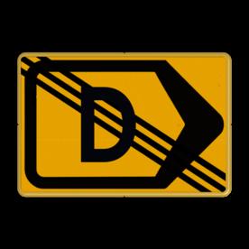 Tekstbord - T201r-de - Werk in uitvoering Tekstbord, WIU bord, tijdelijke verkeersmaatregelen, werk langs de weg, omleidingsborden, tijdelijk bord, werk in uitvoering, gevaarlijk terrein, drijf zand