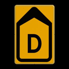 Tekstbord - T201b-d - Werk in uitvoering Tekstbord, WIU bord, tijdelijke verkeersmaatregelen, werk langs de weg, omleidingsborden, tijdelijk bord, werk in uitvoering, gevaarlijk terrein, drijf zand