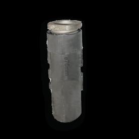 Grondpot 300 mm voor buis Ø76 mm