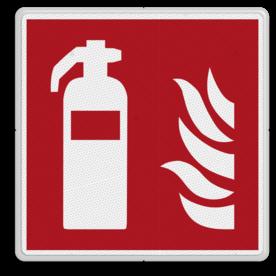 Brandweer - Brandblusser - F001 Brand, trap, locatie, vuur, blussen, vluchten