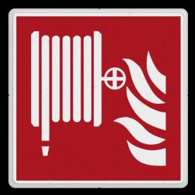 Brandweer - Brandslang - F002 Brand, trap, locatie, vuur, blussen, vluchten