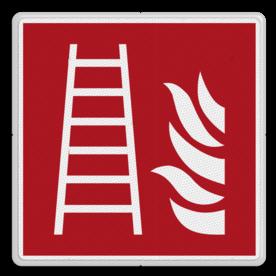Brandweer - Brandtrap - F003 Brand, trap, locatie, vuur, blussen, vluchten