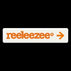 Verwijsbord 900x200mm | Reeleezee reeleeze, logo, eigen ontwerp