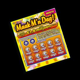 Kraslot ' Maak mijn dag' - kans op € 10.000,00
