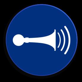 Product Signaleren is verplicht Veiligheidspictogram - Signaleren verplicht - M029 NEN7010, veiligheidspictogram